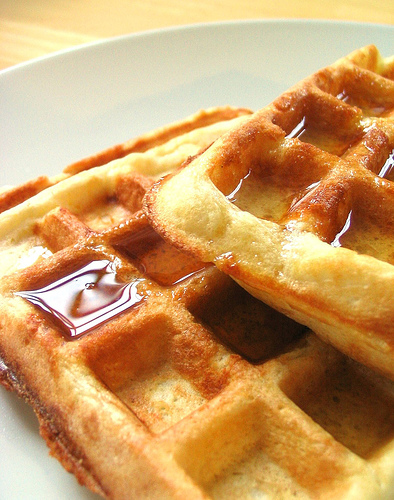 Waffle Wednesdays is a labour of love - home made dad